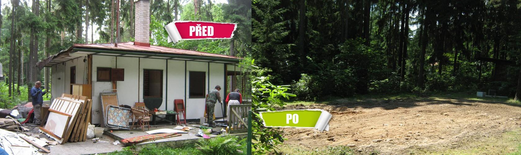 Postupné rozebírání staveb